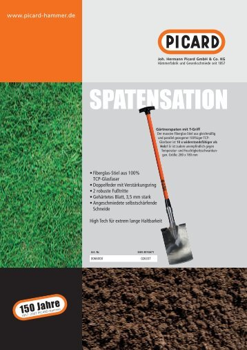 www_PICARD_A4_Flyer_Garten.pdf - Joh. Hermann Picard GmbH ...
