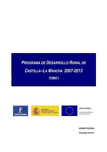 programa de desarrollo rural de castilla–la mancha 2007-2013 tomo i
