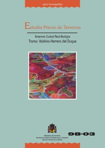 98-03 Valdivia-Herrera del Duque - Ministerio de Fomento