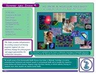 Center in Molecular Toxicology Newsletter, Summer 2012