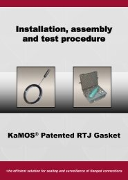Installation, assembly and test procedure - Kamos.no