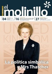 La política simbólica y Mrs Thatcher