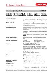 ADLER Aquacryl CFB 30090 ff