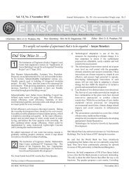 November 2012 news letter - The Institution of Engineers India ...