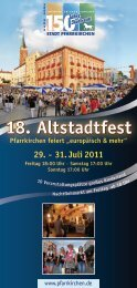 18. Altstadtfest - Pfarrkirchen