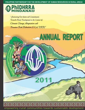 2011 Annual Report - PhilDHRRA-Mindanao