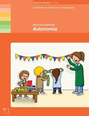 Autonomía - Ministerio de Educación