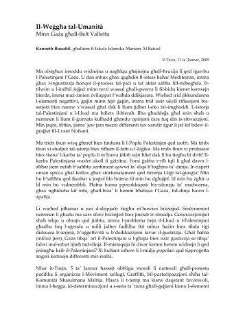 Artiklu - It-Torca - Kenneth Busuttil - Malti.info