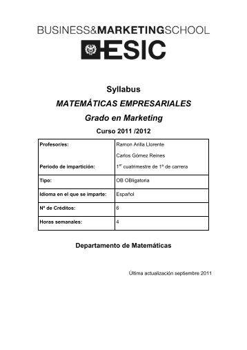 Plantilla Esic documentaciones en vertical