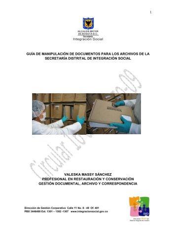 guía de manipulación de documentos para los ... - Página principal