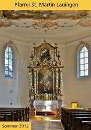 PDF (3,2 MB) - Pfarrei Lauingen