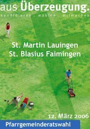 PDF (2,5 MB) - Pfarrei Lauingen