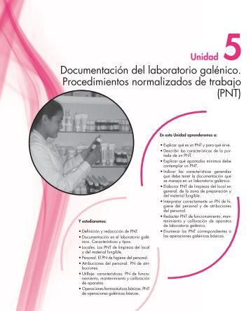 Documentación del laboratorio galénico ... - McGraw-Hill