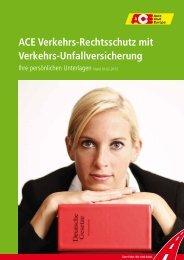 ACE Verkehrs-Rechtsschutz mit Verkehrs-Unfallversicherung