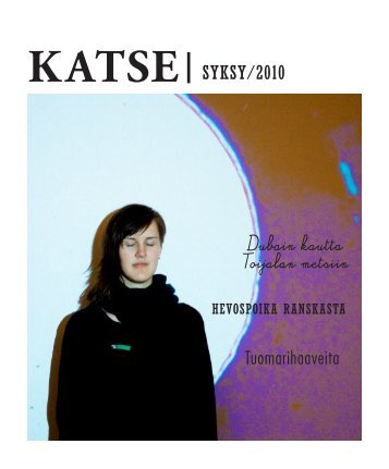 KATSE SykSy/2010 - Tampereen yliopisto