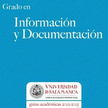 Grado en Información y Documentación - Universidad de Salamanca