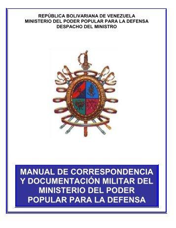 Manual de Correspondencia y Documentación Militar - Ejército ...