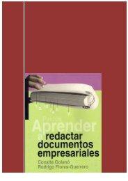 Aprender a redactar documentos empresariales[1]