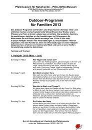 Infoblatt Outdoor 2013.pages - Pfalzmuseum für Naturkunde