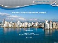 Panamá: Desarrollo Sostenible Mediante Diversificación - AS/COA