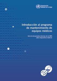 Introducción al programa de mantenimiento de ... - libdoc.who.int