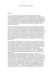 Michael Perkampus – Ninegal 1 NINEGAL Na! - es gibt sie freilich ...