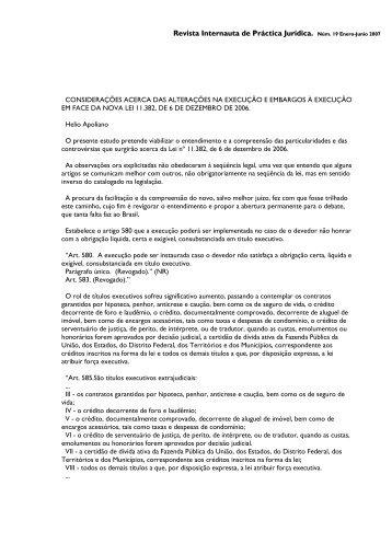 Revista Internauta de Práctica Jurídica.