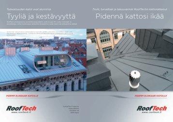 Yleisesite - Roof Tech Finland