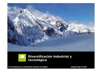 Abrir ponencia - Cátedra para la Diversificación Industrial y ...
