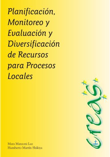 Planificación, Monitoreo y Evaluación y Diversificación de ... - Creas