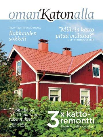 Oman katon alla - Rakentaja.fi