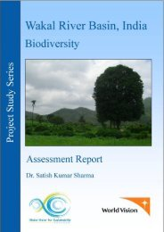 Wakal Biodiversity Assessment Report 2008 - GLOWS