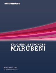 Annual Report 2012 - Marubeni