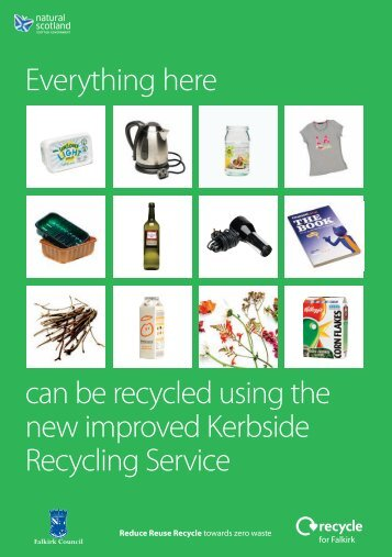 Falkirk Council Recycling Guide