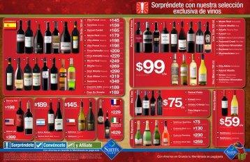 Sorpréndete con nuestra selección exclusiva de vinos - Sams MX