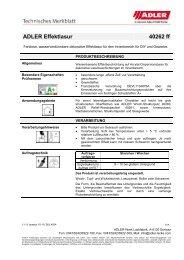 ADLER Effektlasur 40262 ff - ADLER - Lacke