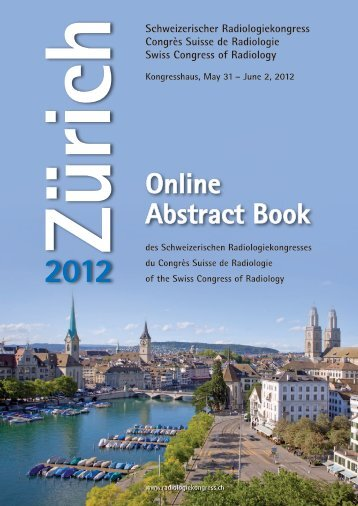 Online Abstract Book - Radiologiekongress.ch
