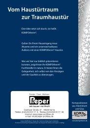 Neuheiten 2012 - Pieper Profilbau in Herne