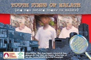 ang mga batang bugaw sa malate youth pimps of ... - Bahay Tuluyan