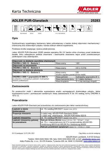 ADLER PUR-Glanzlack 25283 - ADLER - Lacke