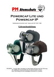 Powercap - PM Atemschutz