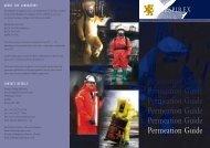 Permeation Guide Permeation Guide Permeation ... - PM Atemschutz