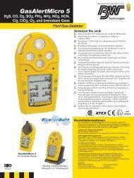 GasAlertMicro 5 - PM Atemschutz