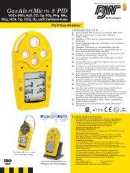 GasAlertMicro 5 PID - PM Atemschutz