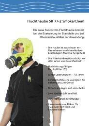 Fluchthaube SR 77-2 Smoke/Chem - PM Atemschutz