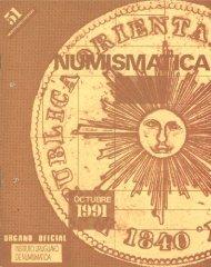 Numismática - Nº 51 - Monedas del Uruguay