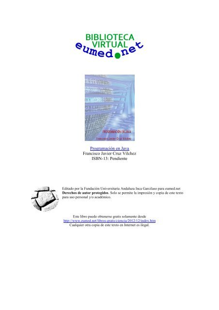 Programacion En Java Libro Pdf