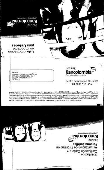 l Bancolombia O