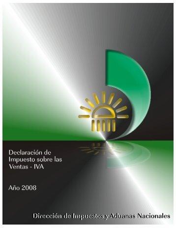 Cartilla para declaraciones de IVA 2008 - actualicese.com