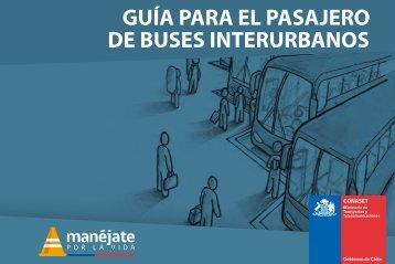 GUÍA PARA EL PASAJERO DE BUSES INTERURBANOS